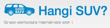 Bir Haftasonu Projesi: hangisuv.net