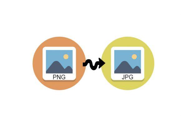 macOS'da sağ tıklayarak PNG dosyayı JPG'e çevirmek